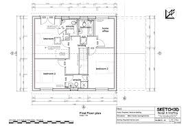 Passive House Floor Plans Example Self Build House Plans Low Energy Lifetime Home