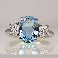 pretty stone rings images 7 best oval round side stone rings images diamond jpg