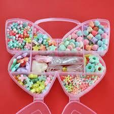 bracelet bead sets images Diy bracelet acrylic loom bands bead set accessories girl toys jpg
