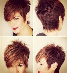 short hair image front and back view 95 pixie haircuts for women front and back view short layered