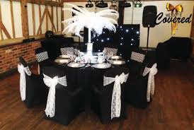 Black And White Chair Covers Wedding Chair Cover Hire Essex London Kent Hertfordshire
