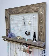 earring holder necklace images 1000 ideas about jewelry holder diy wall hanging jpg