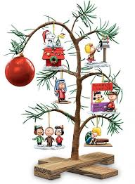 charly brown tree peanuts classic memories tabletop tree rediscover a