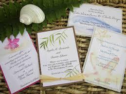 invitation kits for wedding beach wedding invitation sets cheap beach theme wedding