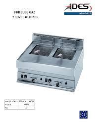 cuisine modulaire professionnelle beautiful cuisine modulaire professionnelle 5 friteuse gaz 2x8l