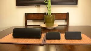 Living Room Bluetooth Speakers Oontz Angle 3 Bluetooth Speaker Review Youtube