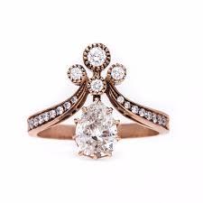 unique engagment rings unique engagement ring shapes popsugar