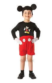 Mickey Mouse Halloween Costume Teenager Costume Disney Mickey Mouse Boys Girls Fancy Dress Rubies