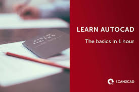 autocad tutorial getting started autocad learn the basics in one hour scan2cad