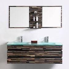 Wall Bathroom Vanity Double Sink Bathroom Vanity Ebay