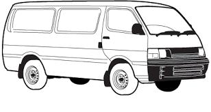 Toyota Hiace Van Interior Dimensions Parts For Your Car Toyota Hiace Rzh113 Supercheap Auto