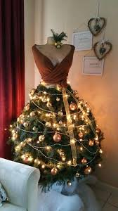fashioned christmas tree 46 fashion inspired christmas trees made from dress forms