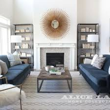 Gray And Gold Living Room by Best 25 Navy Blue Sofa Ideas On Pinterest Navy Blue Couches