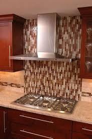 Outlet Covers For Glass Tile Backsplash by Glazed Subway Tile Backsplash With Glass Accents Google Search