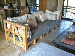 how to make your own couch or bed out of pallets way too cool