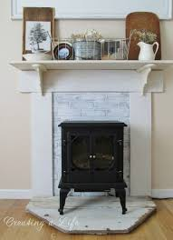 astonishing fake fireplace mantel ideas photo decoration