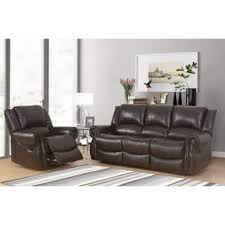 abbyson living bradford faux leather reclining sofa faux leather abbyson living room furniture for less overstock com