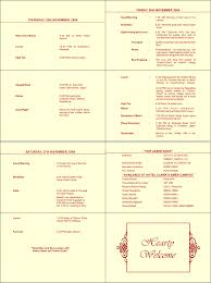 indian wedding program template wedding ceremony text sle wedding ceremony text wedding