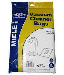 Miele Vaccum Bags Electruepart Bag 307 5 Pack Vacuum Cleaner Bags To Fit Miele Gn