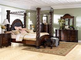 Prentice Bedroom Set In Black Exceptional King Canopy Bedroom Set King Size Canopy Bedroom Sets