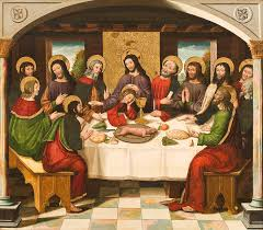 the last supper painting the last supper by master of portillo