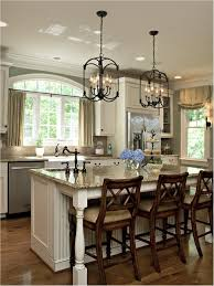 Kitchen Islands Lighting Kitchen Island Lighting Design Granite Countertop Stainless Faucet
