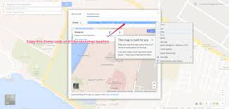 G00gle Map How To Get Google Map Url U2013 Webriti Help Centre