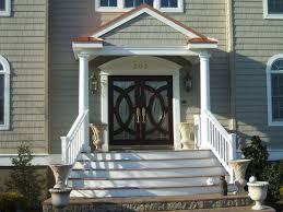Home Interior And Exterior Designs Exterior Design Decorative White Azek Trim For Home Interior Or