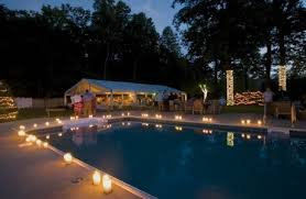 pool side decor great idea for a time maybe my birthday
