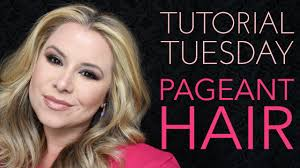 pageant curls hair cruellers versus curling iron tutorial tuesdays pageant hair youtube