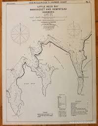 Long Island New York Map by Little Neck Bay Manhasset And Hempstead Harbors Long Island New