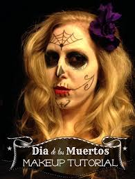 Halloween Makeup Dia De Los Muertos Dia De Los Muertos Makeup Tutorial Easy And Step By Step
