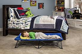 How To Short Sheet A Bed Amazon Com Regalo My Cot Portable Toddler Bed Includes Fitted
