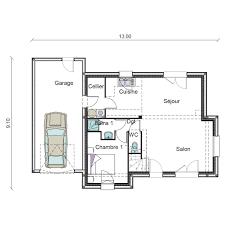 plan maison 4 chambre plan maison 4 chambres free maison chambres suite parentale cuisine