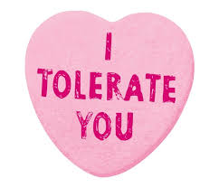valentines day heart candy i tolerate you s day heart candy prints by