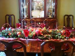 christmas dining room table centerpieces 18742