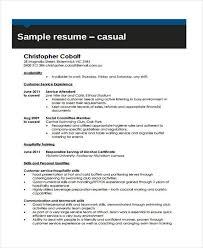 Hospitality Resume 9 Hospitality Curriculum Vitae Word Pdf Free U0026 Premium Templates