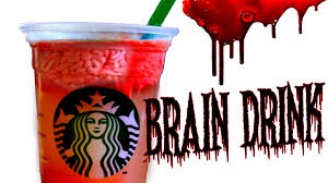 diy zombie brain drink diy starbucks halloween drink walking