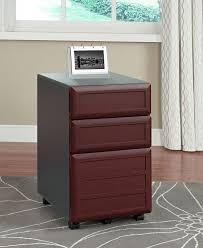 amazon com altra pursuit mobile file cabinet cherry gray