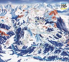 Keystone Resort Map Les Carroz Piste Maps And Ski Resort Map Powderbeds