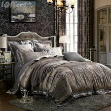 Jacquard Bedding Sets 4pcs Silk Jacquard Bedspread Bedding Sets Quilt Cover For Sale