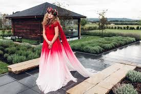 ombré wedding dress ombre wedding dress gold sparkly wedding inspiration