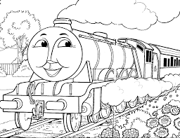 thomas coloring page thomas the train coloring page free printable
