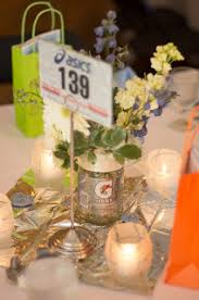 another view of center pieces gatorade centerpieces yasss the wedding