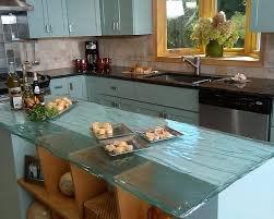 glass top kitchen island 3 i these glass countertops to bread