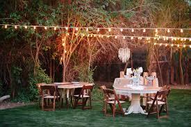 reception ideas the ecobeautiful s u emagazine backyard with