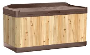Wood Outdoor Storage Bench Outdoor Storage Bench The Storage Home Guide