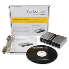 home theater with spdif input startech com 7 1 usb audio adapter external sound card by office