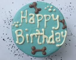 dog birthday cake etsy