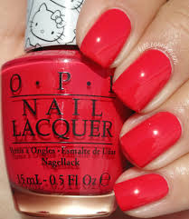 kelliegonzo opi hello kitty collection swatches u0026 review